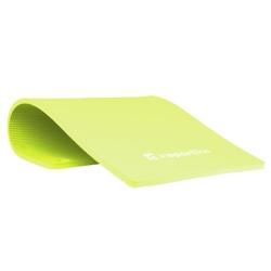 Mata do ćwiczeń profi 100 x 50 cm zielona - insportline - zielony