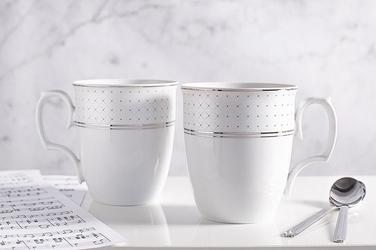 Zestaw kubków porcelana mariapaula sissi, komplet 2 kubków 360 ml, opakowanie prezentowe