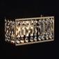 Kinkiet prostokątny, złoty z kryształami monarch mw-light crystal 121021902