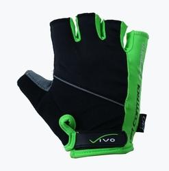 Rękawiczki vivo sb-01-5026 czarno-zielone