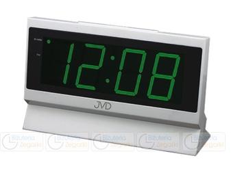 Zegar prądowy - budzik jvd sb 1820.2 zielony
