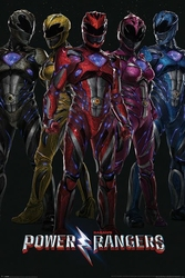 Power Rangers Bohaterowie - plakat filmowy