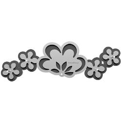 Wieszak na klucze Merletto CalleaDesign aluminium  ciemnoszary 56-18-1-2