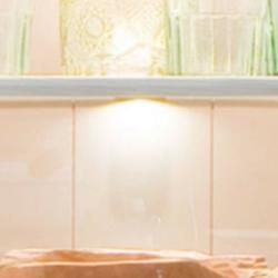 Oświetlenie led na półki szklane rosie zestaw 2 sztuki