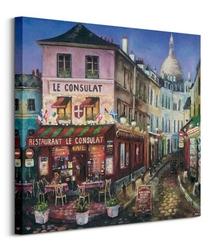 Le consulat paris - obraz na płótnie