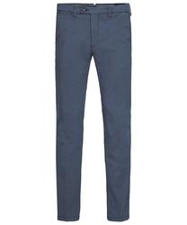 Męskie niebieskie spodnie typu chino  3834