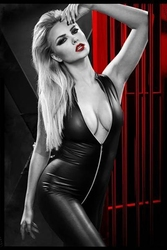 Seksowny i drapieżny kostium ananke czarny xl   100 dyskrecji   bezpieczne zakupy