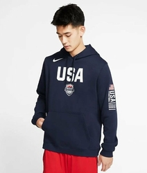 Bluza z kapturem Nike USA Nike Club Fleece - CJ6194-451