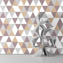 Tapeta na ścianę - sandy triangle , rodzaj - tapeta flizelinowa