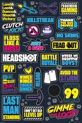 Battle Royale Infographic - plakat