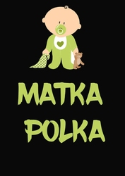 Matka polka, black - plakat wymiar do wyboru: 61x91,5 cm