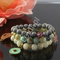Bransoletka z amazonitu 10 mm, kamienie naturalne, hand made