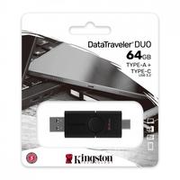 Kingston pendrive data traveler duo 64gb usb 3.2 ac gen 1