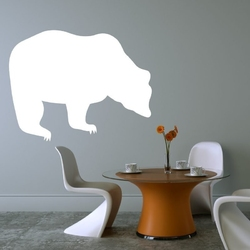 Tablica suchościeralna niedźwiedź 138