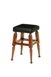 Authentic models mayan stołek , czarny mf174