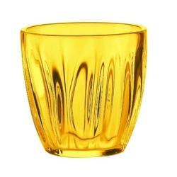 Guzzini - komplet 2 szklanek do wody 0,35 l - aqua - żółty - żółta
