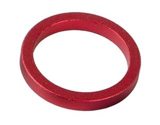 Podkładka dystansowa sterów aluminiowa 10mm czerwone