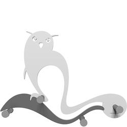 Wieszak ścienny Owl CalleaDesign biały 13-007-1