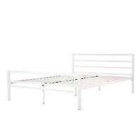 Łóżko metalowe Eveline 160x200 białe