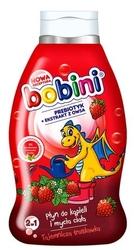 Bobini baby, tajemnicza truskawka, płyn do kąpieli i mycia 2w1, 660 ml