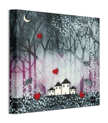 Heart of the forest ii - obraz na płótnie