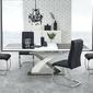 Stół rozkładany eric i 160-220x90cm czarny, szkło