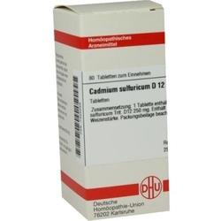 Cadmium sulfuricum d 12 tabl.
