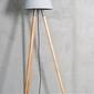 Loftlight :: lampa podłogowa kopa szara wys. 140 cm