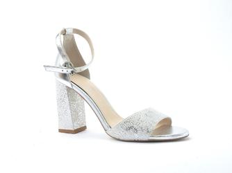 Sandały anis 4696 albuena beżsrebro