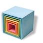 Drewniane pudełka 0+, pastelowe, grimms - pastelowe