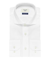 Elegancka biała koszula męska profuomo sky blue - smart shirt 45