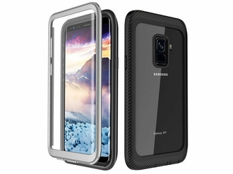 Etui Alogy pancerne rugged Full-body do Samsung Galaxy S9 Czarne