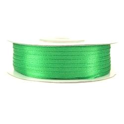 Tasiemka satynowa 3mm91m - zielony - ziel