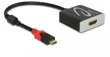 Delock adapter usb cm-hdmif 4k 60hz thunderbolt 3displayport altmode aktywny czarny