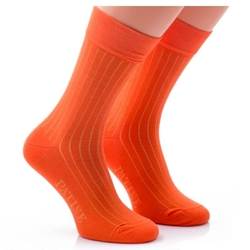 Skarpety patine socks pomarańczowe
