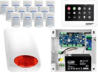 Zestaw alarmowy ropam neogsm-ip 13 x czujka bosch manipulator dotykowy tpr-4ws wifi gsm