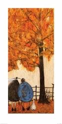 Jesień - Ernest Violet i Doris - reprodukcja