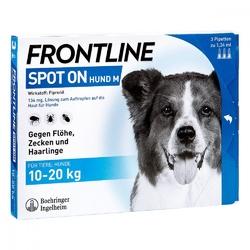 Frontline spot 10-20 roztwór dla psów, pipetka