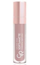 Golden rose soft  matte creamy lip color - matowa pomadka do ust 102