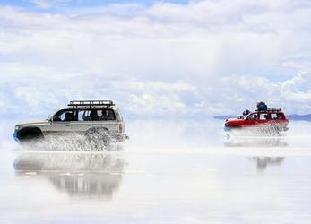 Boliwia, wyprawa po jeziorze - fototapeta