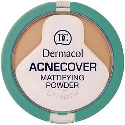 Dermacol acnecover mattifying powder shell kosmetyki damskie - puder w kamieniu 11g