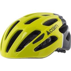 Kask rowerowy cairn prism - zielono-czarny