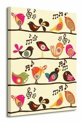Singing Birds - Obraz na płótnie