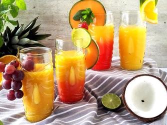 szklanki tiki highball do drinków i koktajli - 4 sztuki