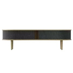 Umage  ::  szafka rtv  ławka z szafkami audacious szara szer. 140 cm