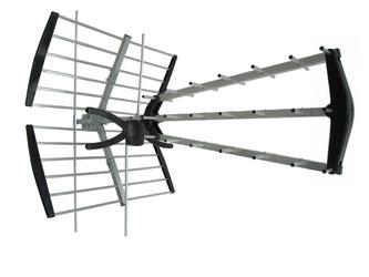 Antena dvb-t2 miton demeter 900 galaxy combo vhf uhf - szybka dostawa lub możliwość odbioru w 39 miastach