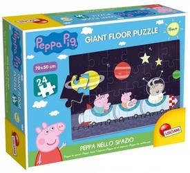 Puzzle Gigant Świnka Peppa w kosmosie