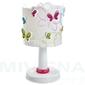 Butterfly-motyle lampa stołowa biały