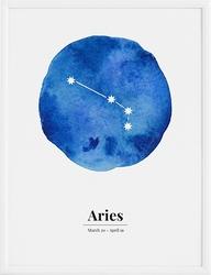Plakat Aries 40 x 50 cm