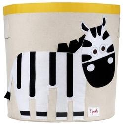 Kosz na zabawki - zebra